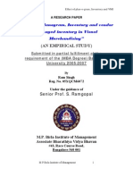 Ram Singh 0565 Effect of Plan o Gram,Inventory &VMI