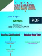 Biokimia 7(Mekanisme Kerja Enzim)