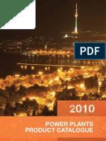 Power Plants Product Catalogue 2010