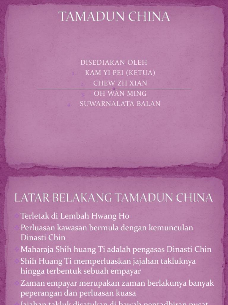 Tamadun China 4sn3