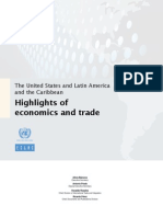 Highlights of Economics and Trade, CEPAL