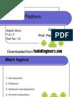 Android Platform PPT