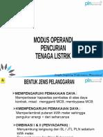 Modus Operandi P2TL