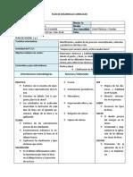 plan de clase MATERIALES DEL DIBUJO TECNICO -