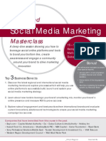Advanced Social Media Marketing Masterclass in Dubai