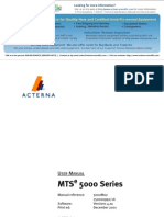 JDSU_MTS-5200 (OTDR)