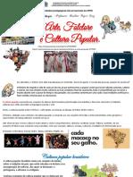 ARTE, FOLCLORE E CULTURA