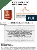 Primeiro Encontro Instrução Geral Do Missal Romano