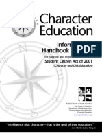 character education handbook