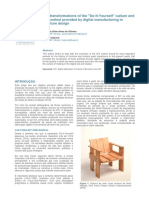The transformations of the Do-It-Yourself culture and the context provided by digital manufacturing in furniture design