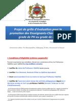 projet de grille PH-PES promotion
