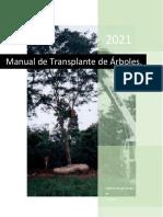 Manual Mexicano de Transplante de Árboles