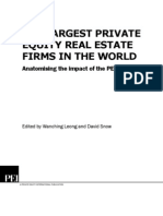 Largest PE real estate in world