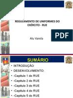 Instrução Sobre RUE