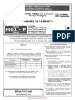prova agente_de_transito