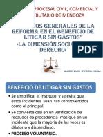 Dr. Lanci Beneficio de litigar sin gastos