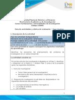 Guia de actividades y Rúbrica de evaluación - Unidad 2 -Fase 3- Análisis