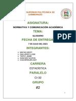 Normativa Grupo 2