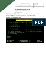 Revision impresiones en JDE-AS400