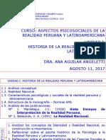 UNIDAD I HISTORIA DE LA REALIDAD PERUANA Y LATINOAMERICANA MAESTRIA ICA AGOSTO 11, 12 2017 (1)