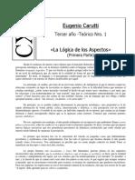 3er Año Casa XI Teóricos Cuadernillo I