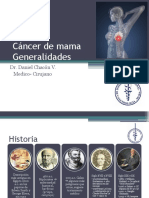 Generalidades de cancer de mama