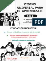DISEÑO UNIVERSAL PARA EL APRENDIZAJE (1)