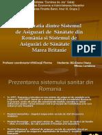 Romania vs. Marea Britanie