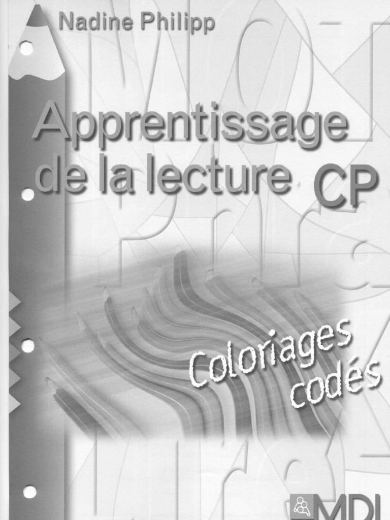Apprentissage de La Lecture CP Coloriage Codés   Genre grammatical ...