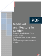 MEDIEVAL ARCHITECTURE IN LONDON