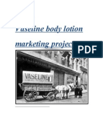 Vaseline Body Lotion Marketing Project00