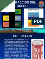 PRESENTACIÓN INTERACCIÓN DEL COLOR