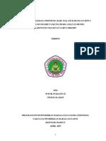 Penggunaan Bahasa Indonesia Baku Dalam Karangan