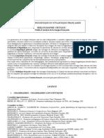 Bibliographie_langue française