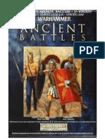Warhammer Ancient Battles 2.0 en ESPAÑOL - Edición 2010