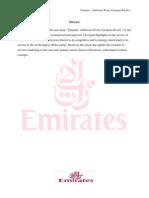 Emirates case report
