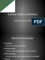 Science Politics Ethics