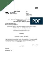 U.N. Covenant of the United States