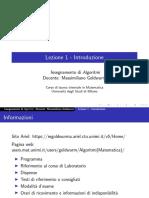 lezione1_Algoritmi-Introduzione
