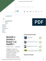 Aprenda a instalar o Drupal 7 no CentOS 7 - Pplware