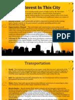 Marketing slides for group presentation