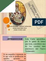 PRIMERA EPÍSTOLA DE S. PEDRO