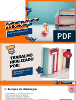 Temas Contemporâneos Da Sociologia