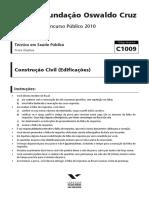 19257-fgv-2010-fiocruz-tecnico-em-saude-publica-construcao-civil-prova