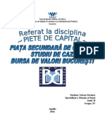 referat piete de capital
