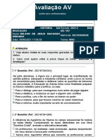 Avaliação HISTORIA DA EDUCACAO-30JUN21-NOTA 10,0