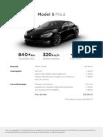Tesla Model S Noire