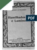 Humilhados e Luminosos - Figueiredo, Jackson de (1921, Annuario)