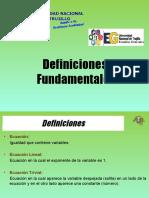 1. Ecuaciones Lineales Cuadraticas (1)