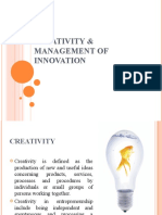 23660967 Creativity and Innovation Management Ppt